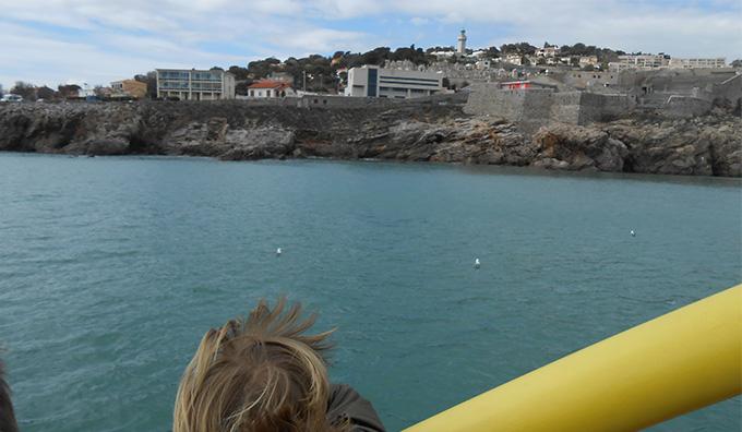 Le port de Sète en bateau