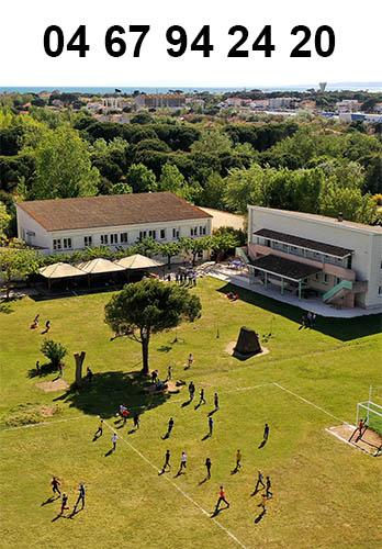 Le centre Le Cosse du Grau d'Agde 04 67 94 24 20